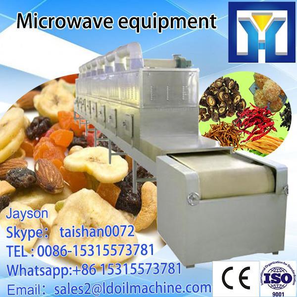 Tunnel conveyor belt type microwave heating oven #3 image