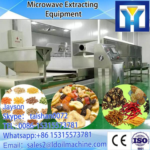 Conveyor belt microwave sterilizing oven for tomato sauce #1 image