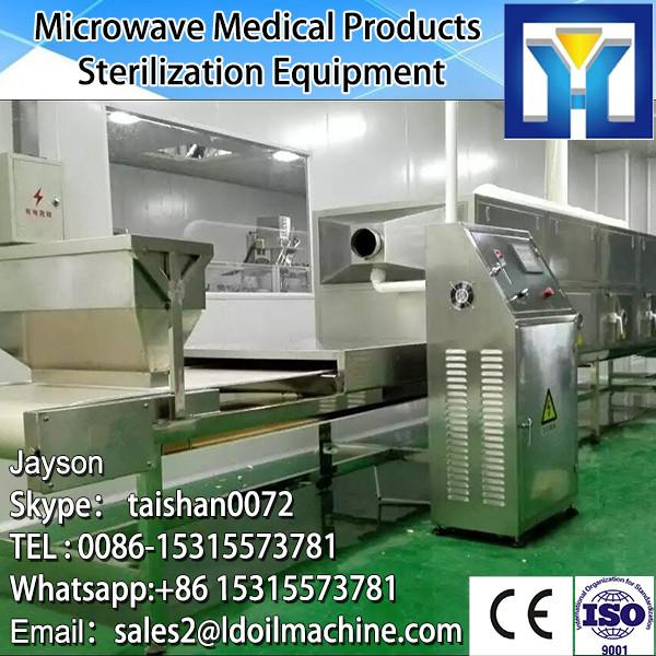 Tunnel belt microwave machine for drying and sterilizing wheat germ #3 image