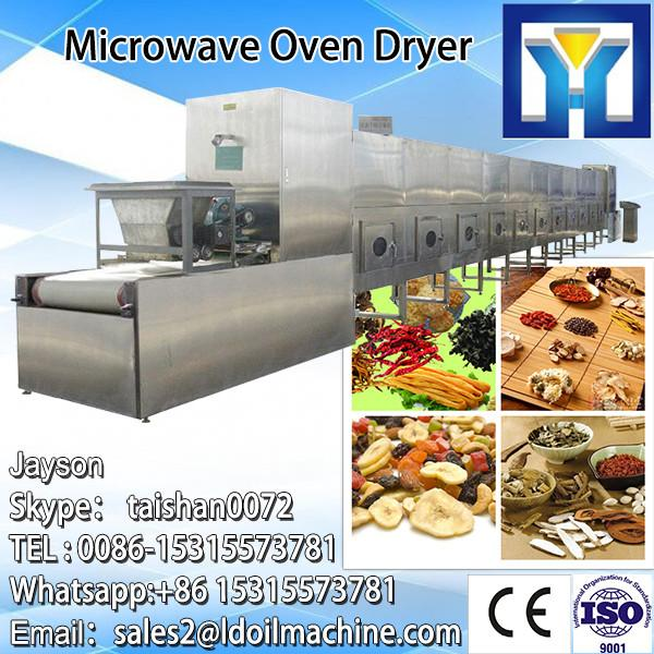 Industrial continuous Talcum powder microwave drying sterilization machine #3 image