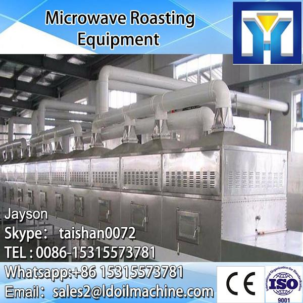 Industrial microwave drying and sterilizing machine for sanchi powder #1 image