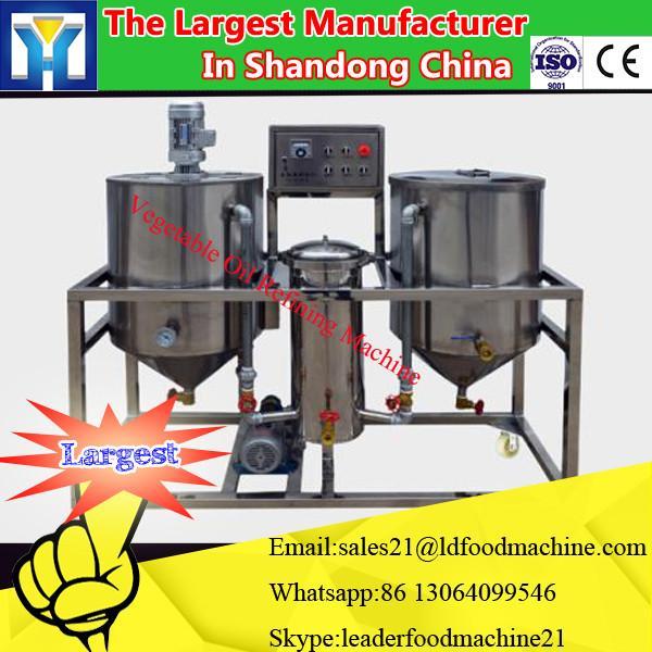 hot sales in Africa! 3T/D Palm crude oil refining machine edible oil refining machine sunflower oil refining machine #1 image