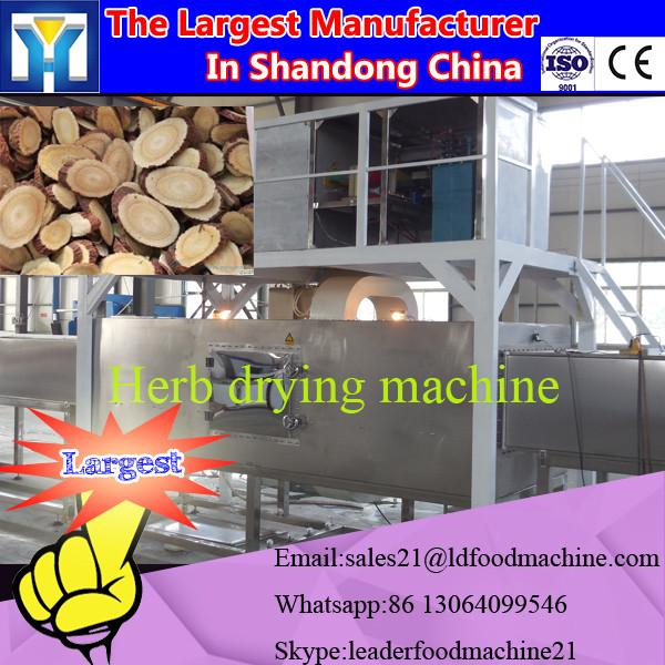 Factory Conti tunnel type microwave dryer for different chemical powder #1 image