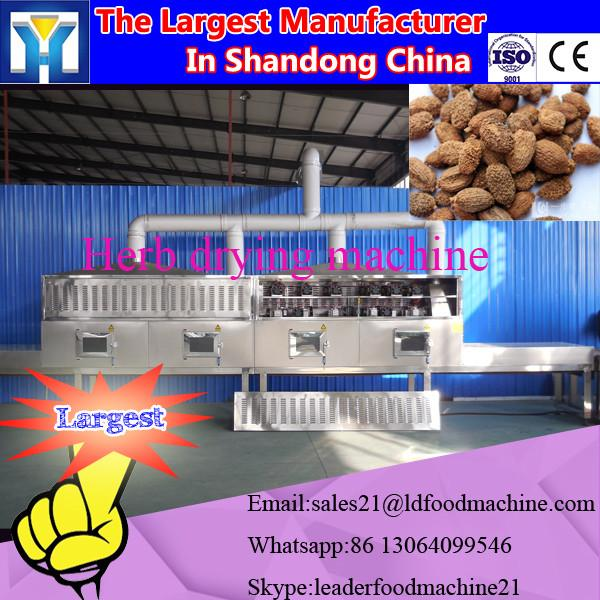 Factory Tunnel type microwave dryer and sterilizing machine for fungus food #2 image