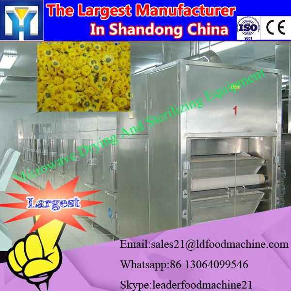 Continuous tunnel belt microwave dryer and sterilizing machine #2 image