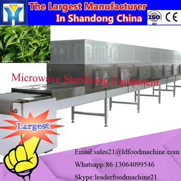 Big capacity industrial tunnel type microwave oven with TEFL conveyor belt #3 image