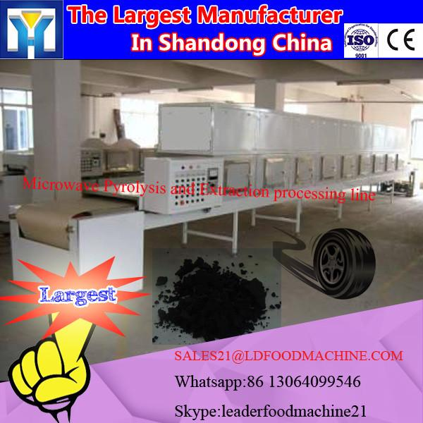 Microwave sludge Pyrolysis and Extraction processing line #1 image