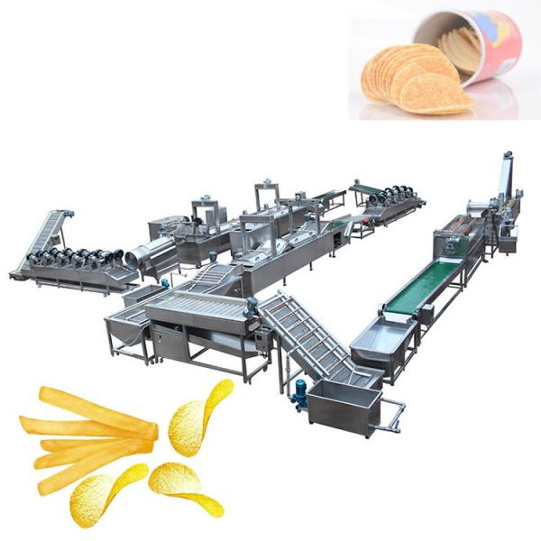 lays industrial potato french fries crisp automatic potato chips making machine price #3 image