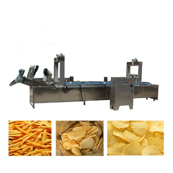 Slanted bar twin screw extruder prices corn chips food making puff snack machine #1 image