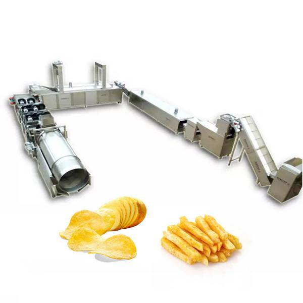Potato Chips Making Machine Automatic Snack Potato Chips Processing Plant Potato Chips Making Machine #3 image